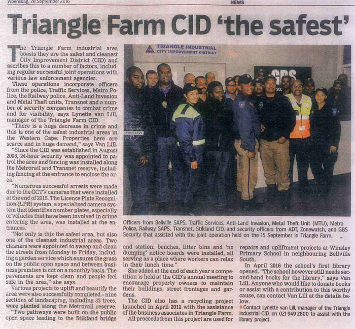 Triangle Farm CID - City Improvement District